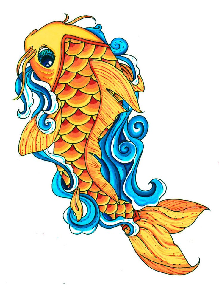 Fish Drawings Images