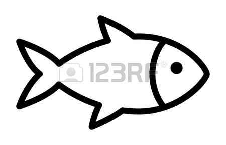 450x289 Fishing A Fish With Hook Lure Line Art Icon For Apps And Websites