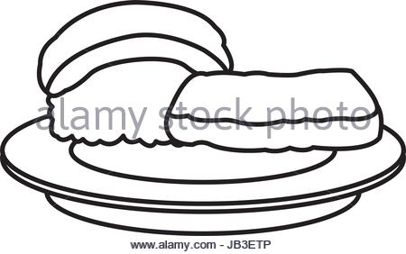 450x282 Rice With Fish Vector Stock Vector Art Amp Illustration, Vector