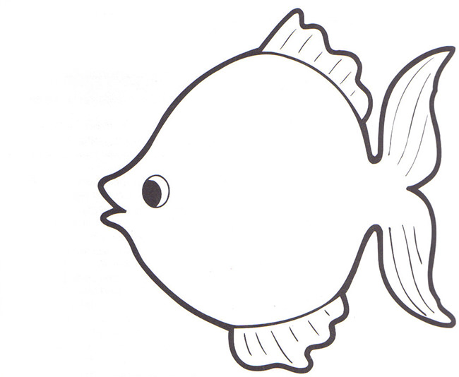 Fish outline printable. Outlines free download best
