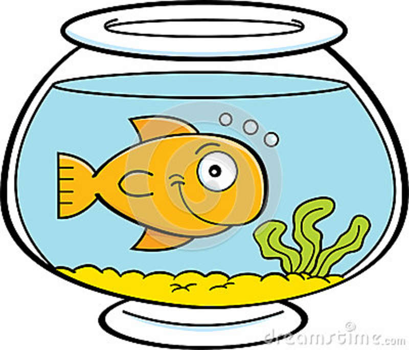 800x684 Pet Clipart Goldfish Bowl
