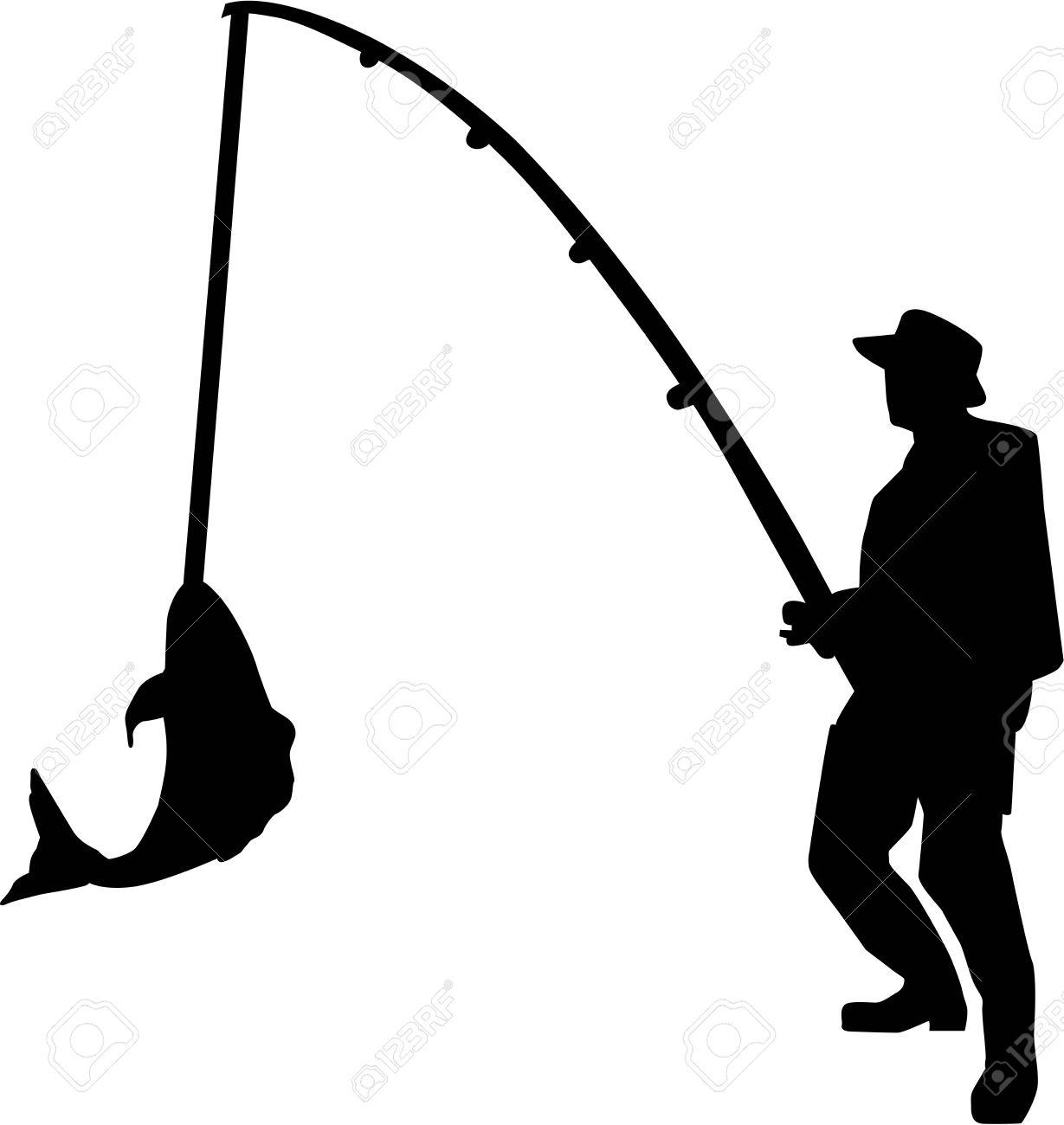 1229x1300 Fisherman Clipart Guy Fishing