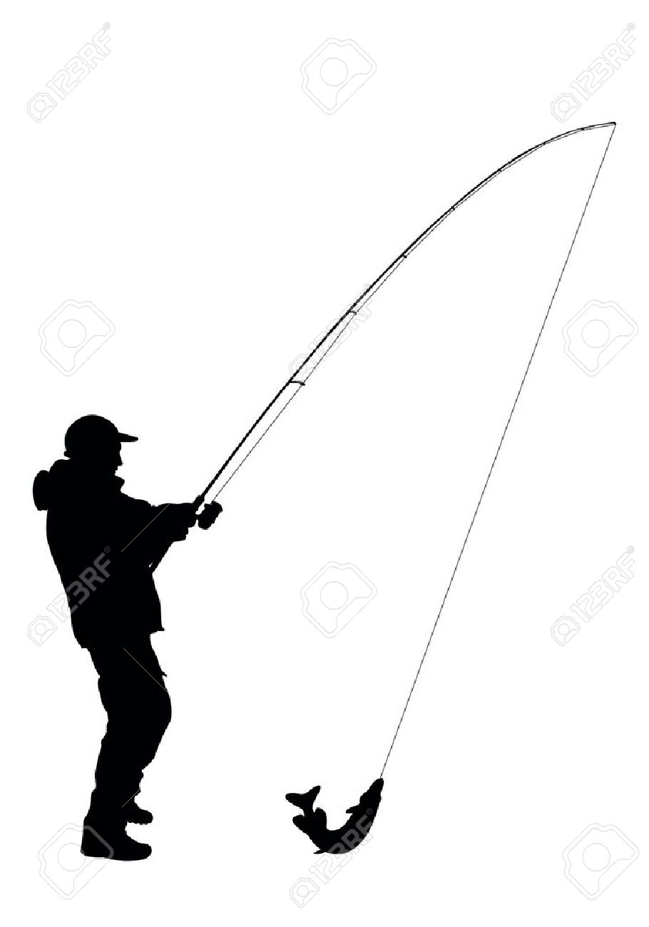 910x1300 Best Fishing Silhouette