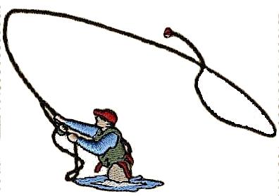 396x278 Fly Fishing Clip Art Many Interesting Cliparts