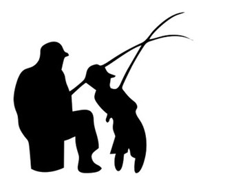 340x270 Dad And Son Fishing Svg Dxf File Instant Download Silhouette Cameo
