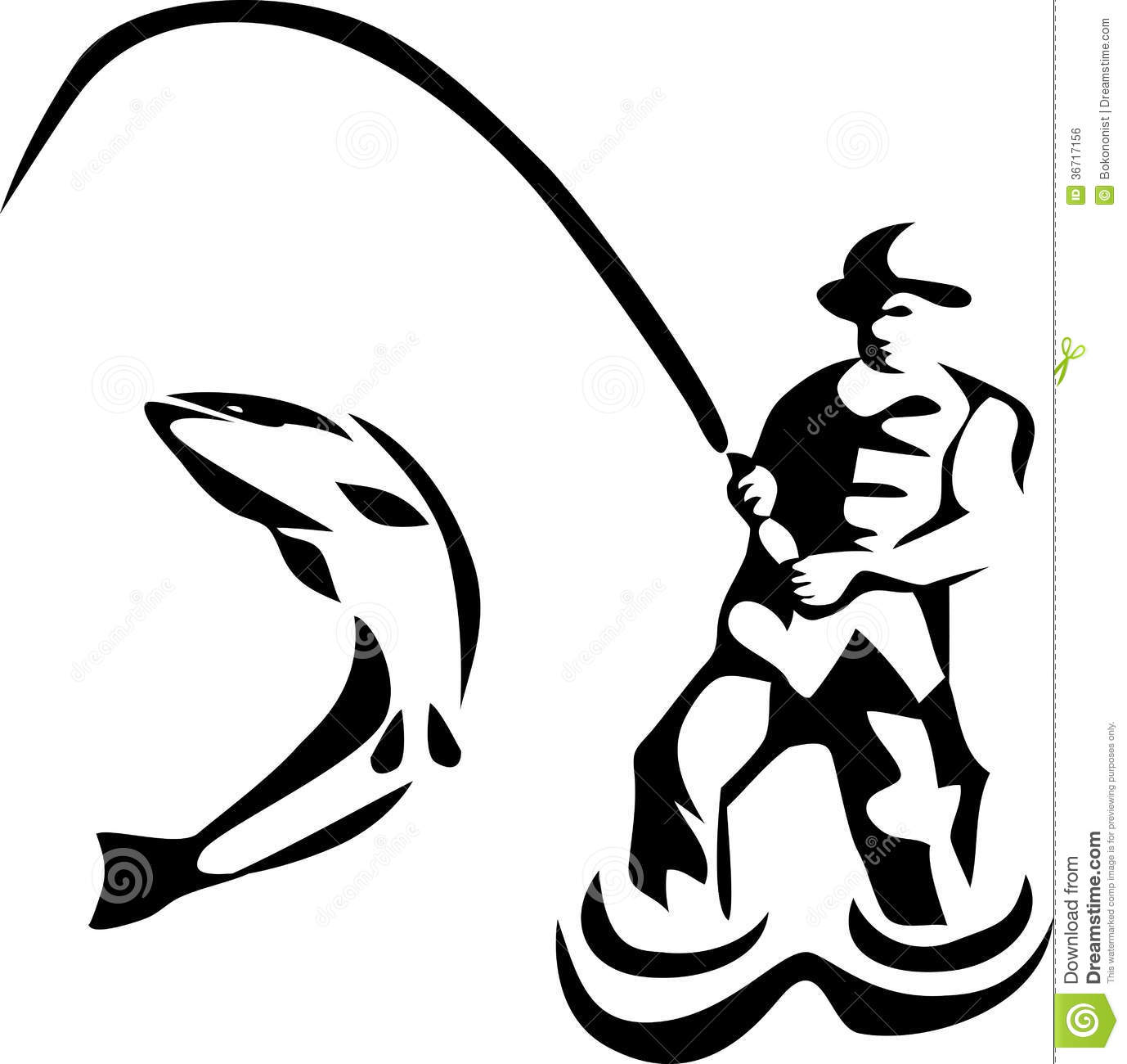 1378x1300 Drawn Fishing Black And White