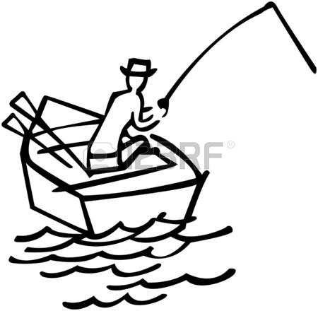 450x440 Fisherman Catching Fish Royalty Free Cliparts, Vectors, And Stock
