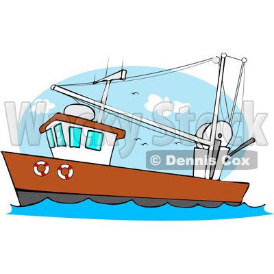 400x400 Fishing Boat Clipart Fishing Trawler