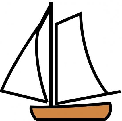 425x422 Ship Outline Clip Art