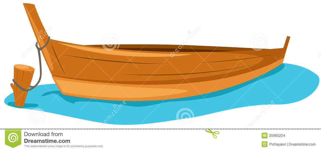 1300x610 Wooden Fishing Boat Clipart