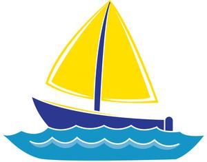 300x235 Cartoon Boat Clipart 2129171