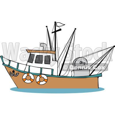 400x400 Ship Clipart Shrimp Boat