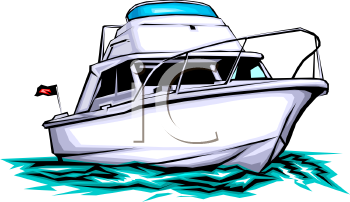 350x202 Clipart Boat