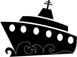 300x223 Boat Black And White Fishing Boat Clipart Black White Free Images