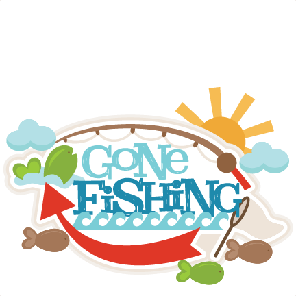 432x432 Gone Fishing Clipart