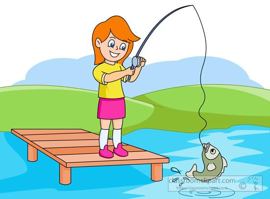 550x406 Lake Fishing Clip Art Clipart