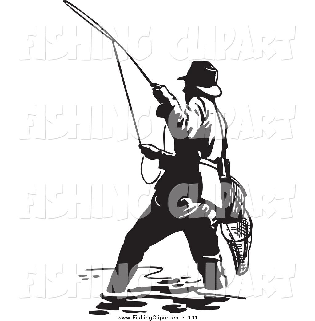 1024x1044 Fishing Clipart Black And White Clipart Panda