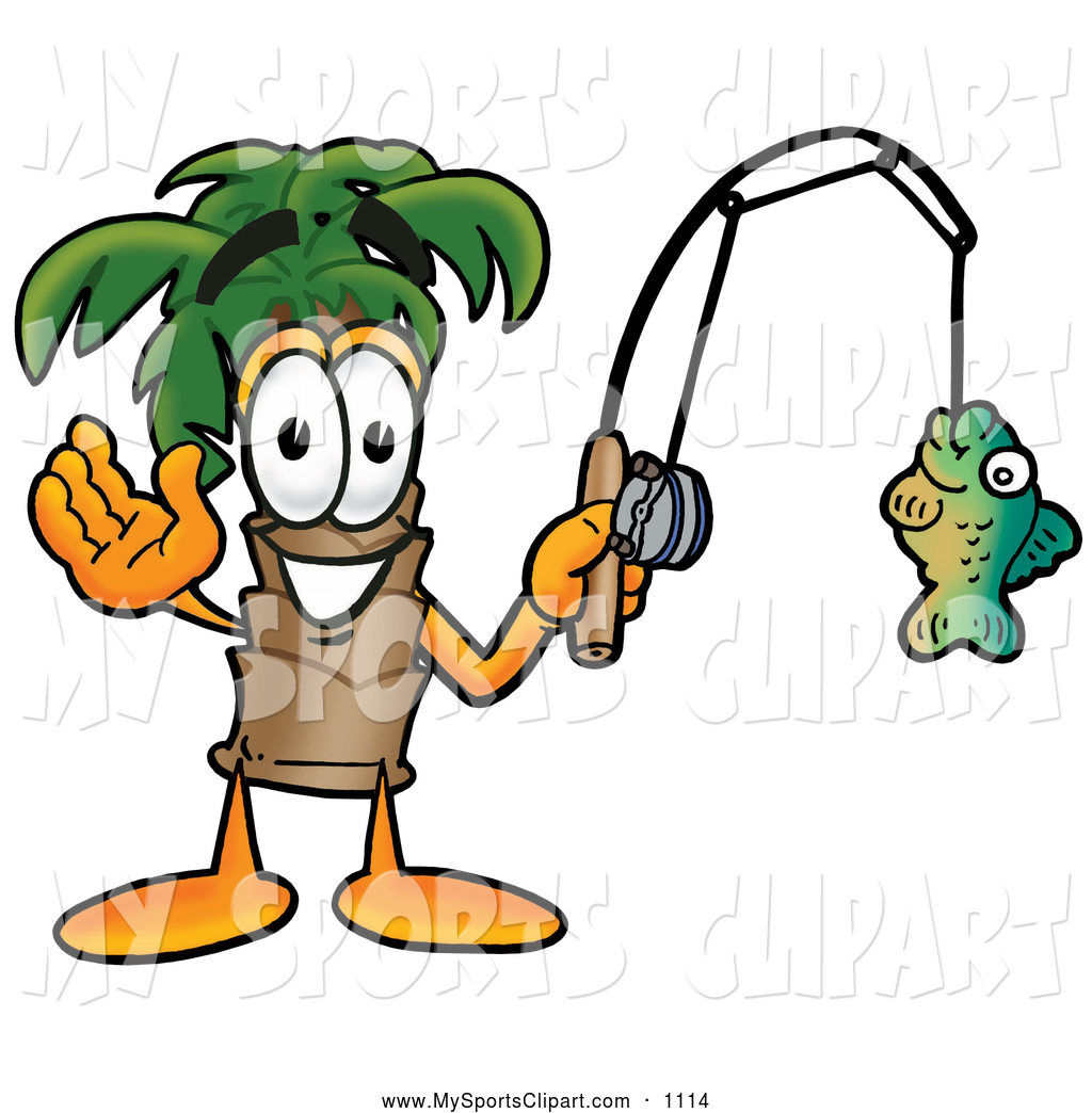 1024x1044 Sports Clip Art Of A Tropical Palm Tree Mascot Cartoon Character