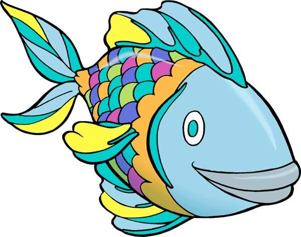 600x472 Fish Clip Art Colorful