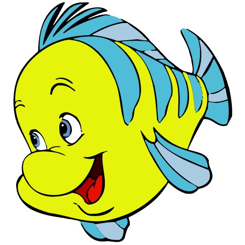 500x500 Clipart Of A Fish