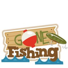 236x236 Gone Fishing Clip Art