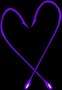 207x299 Fishing Hook Heart Clip Art