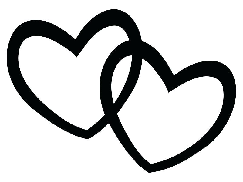 801x601 Heart Clipart Free Double Heart Double Free Download Clip Art Free