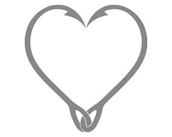 340x270 Hook Heart Etsy