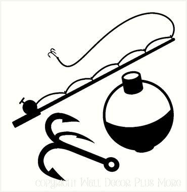 370x380 Silhouette Fishing Pole Clipart, Explore Pictures