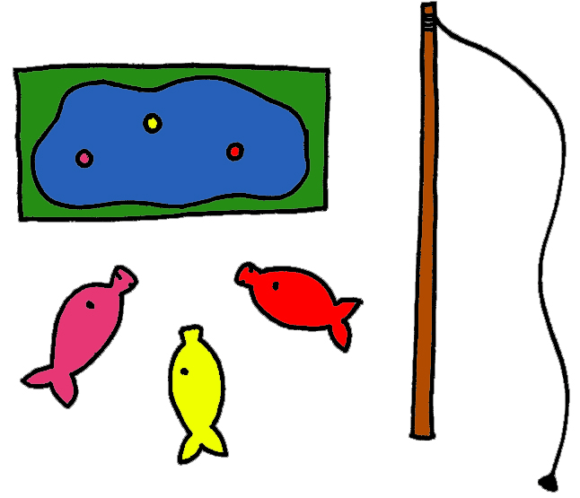 646x555 Fish Pond Cliparts