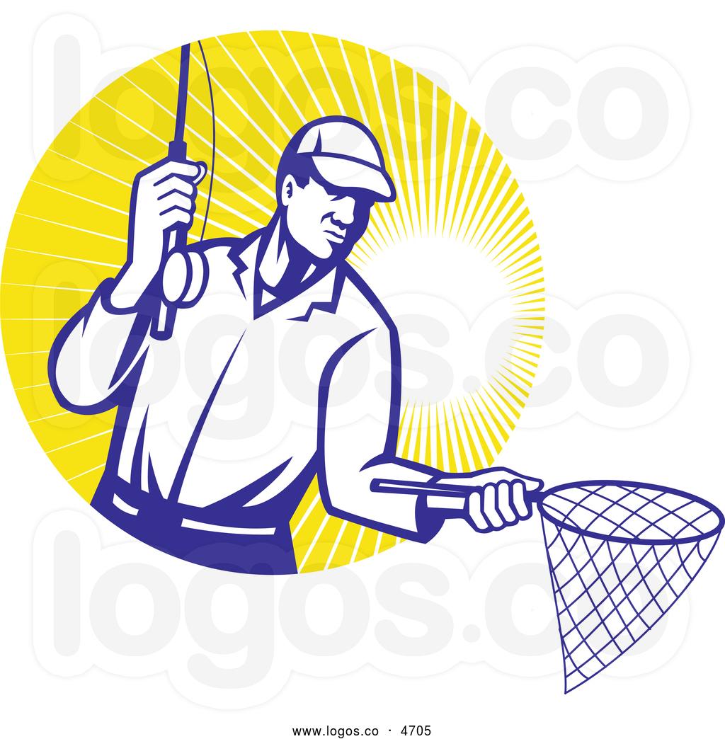 1024x1044 Fishing Net Clipart Royalty Free Clip Art Vector Logo Of A Retro
