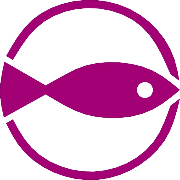 600x600 Fish Symbol Art Free Vector Download (216,605 Free Vector)