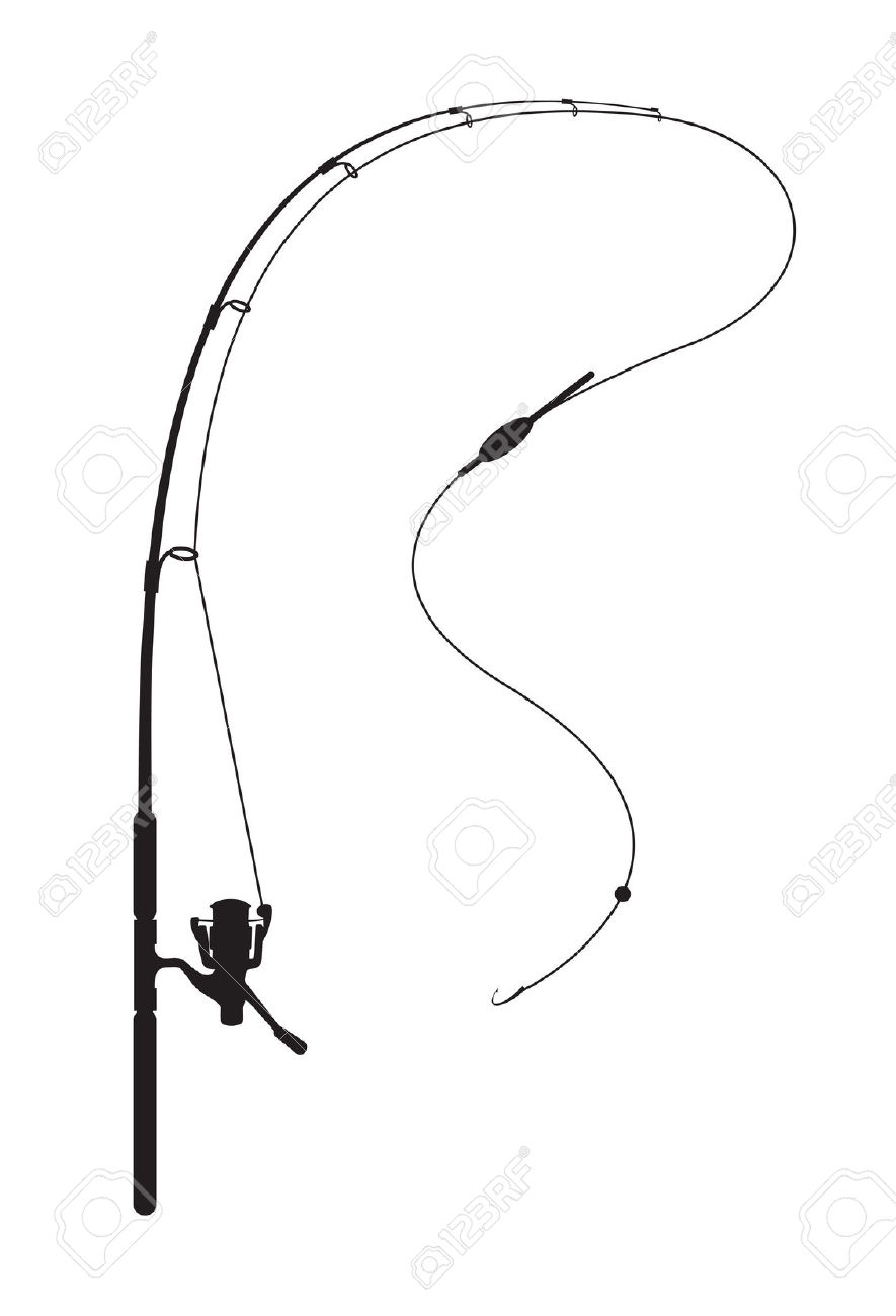 885x1300 Fishing Rod Clipart Fishing Background