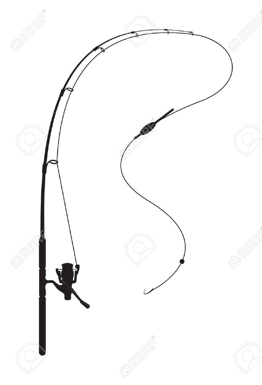 885x1300 Fishing Rod Clipart Fishing Background