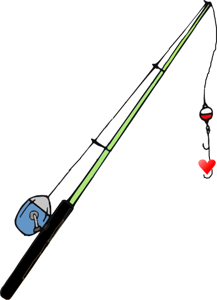 432x598 Free Fishing Pole Clipart Image