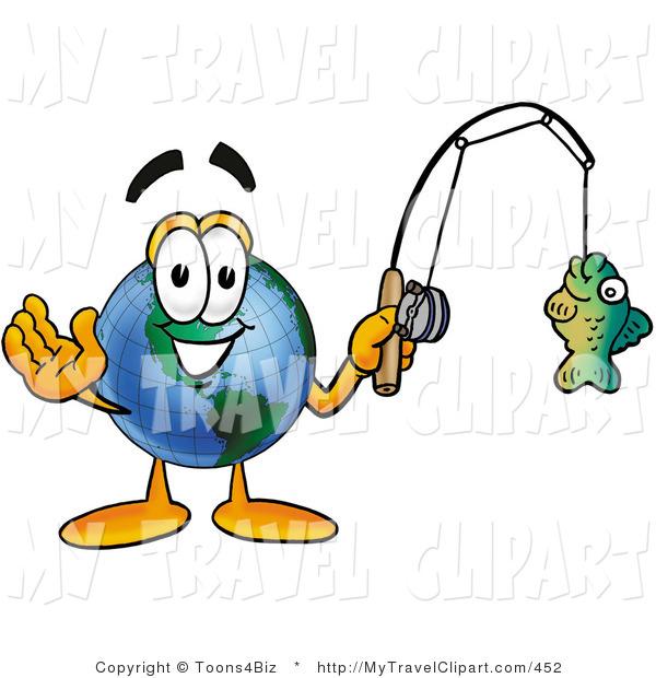 600x620 Clipart Of World Earth Globe Mascot Cartoon Character Holding