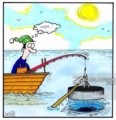 400x416 Fishing Line Cartoons And Comics