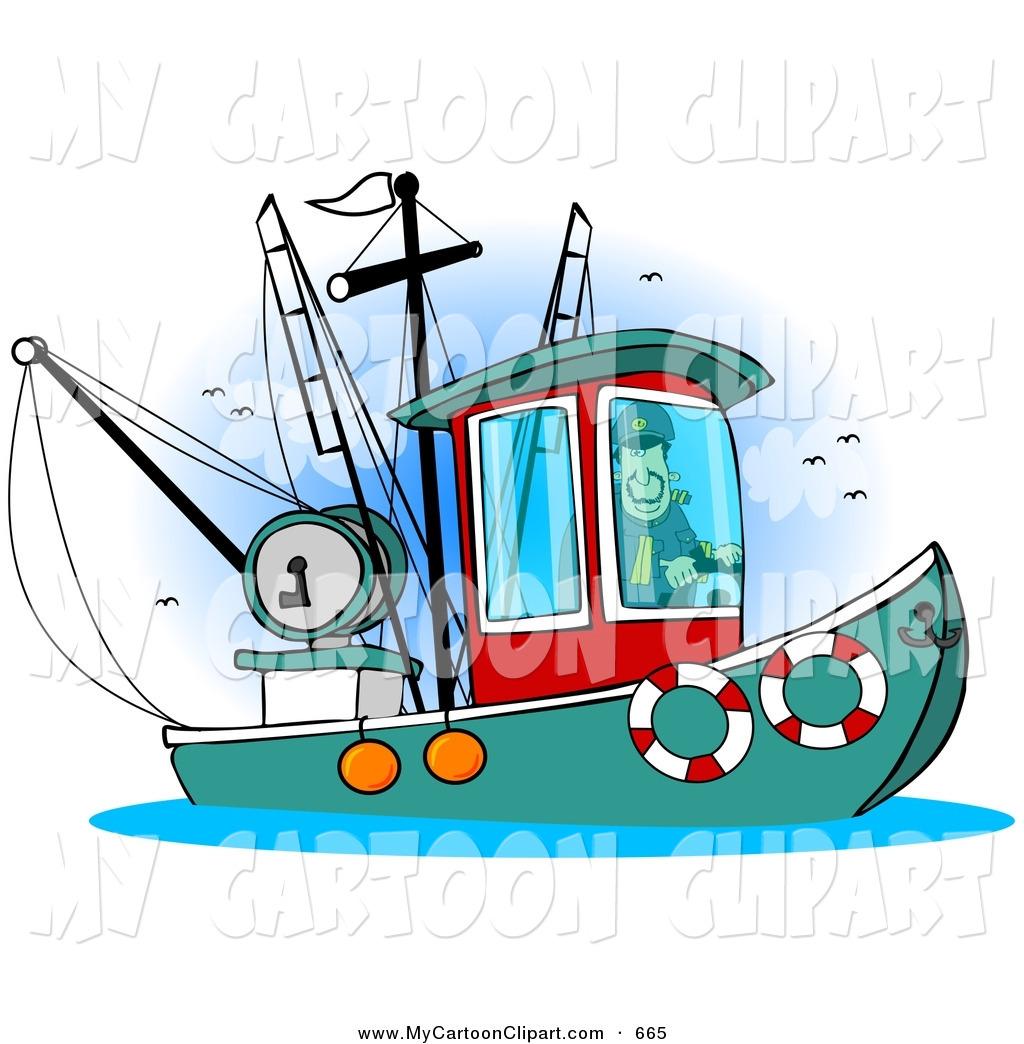 1024x1044 Royalty Free Stock Cartoon Designs Of Fishing Trawls