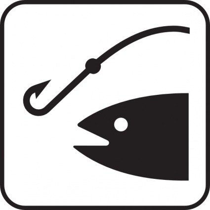 425x425 Fishing Rod Vector