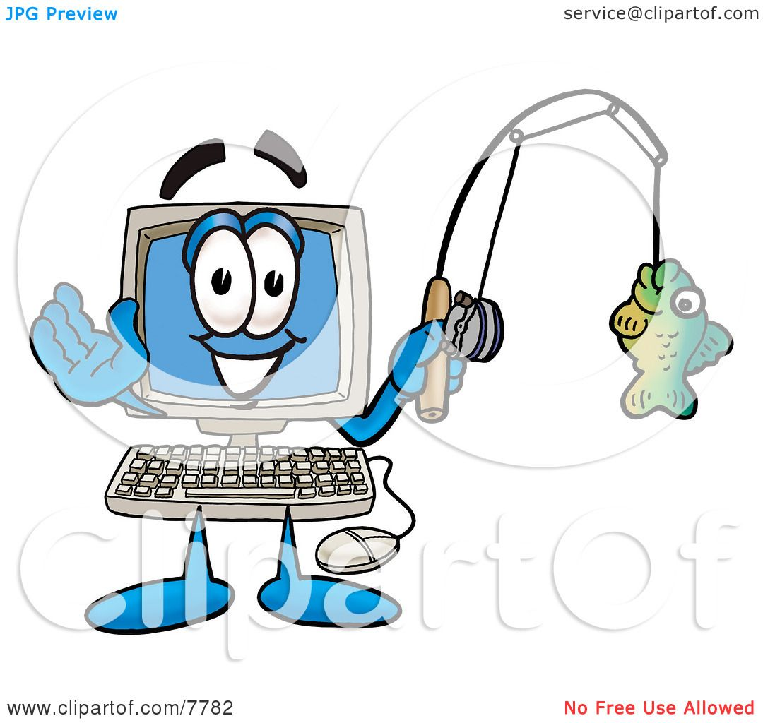 1080x1024 Clipart Picture Of A Desktop Computer Mascot Cartoon Character