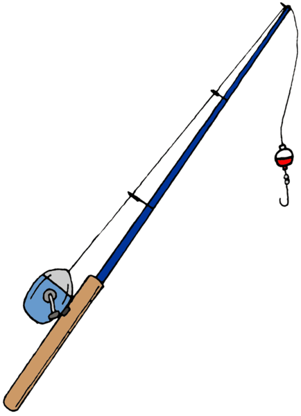 434x600 Fishing Pole Free Images