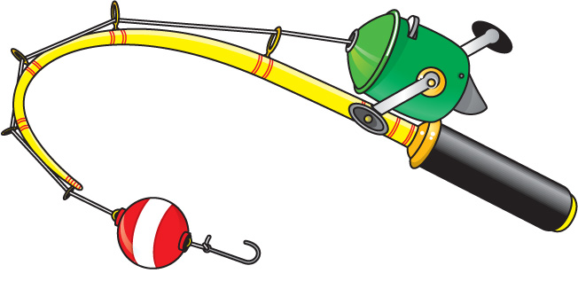 652x317 Fishing Rod Clipart Cartoon