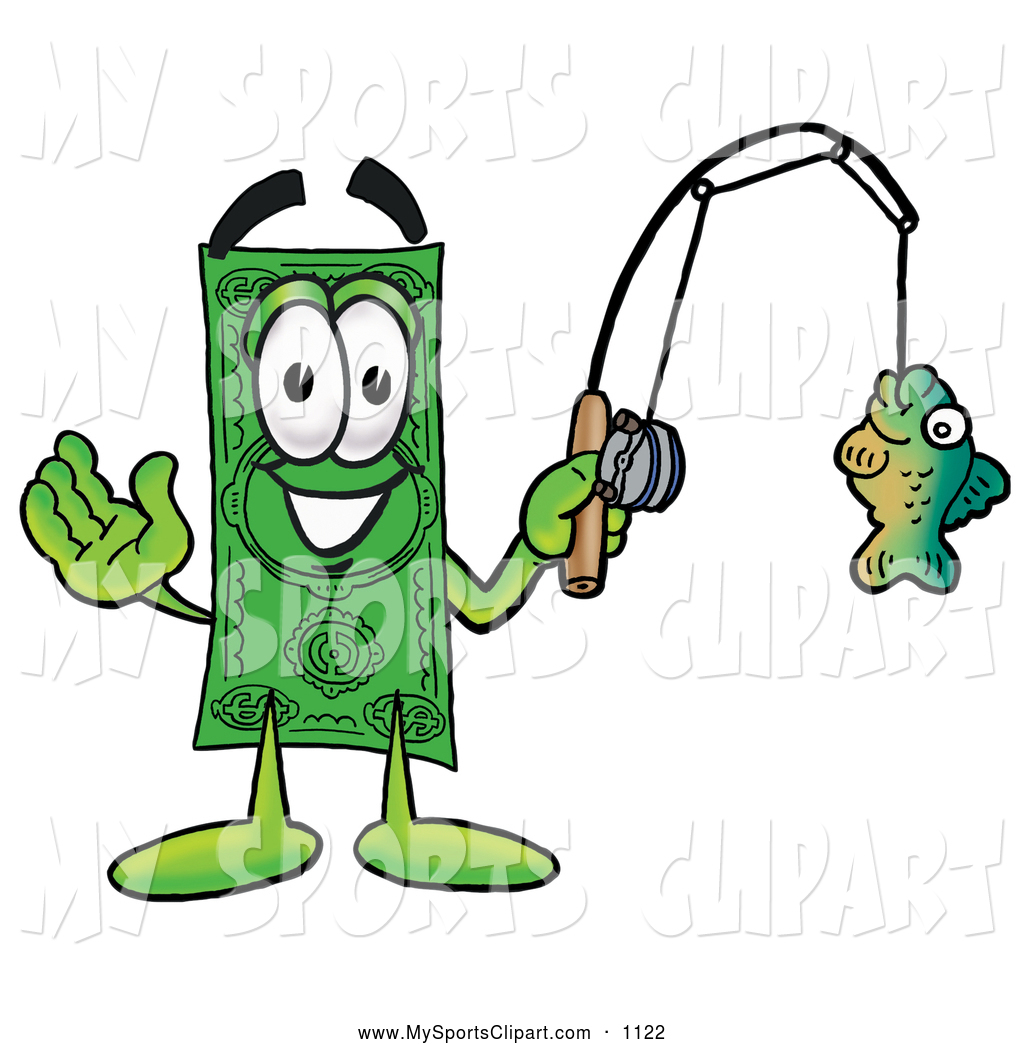 1024x1044 Sports Clip Art Of A Cash Dollar Bill Mascot Cartoon Character