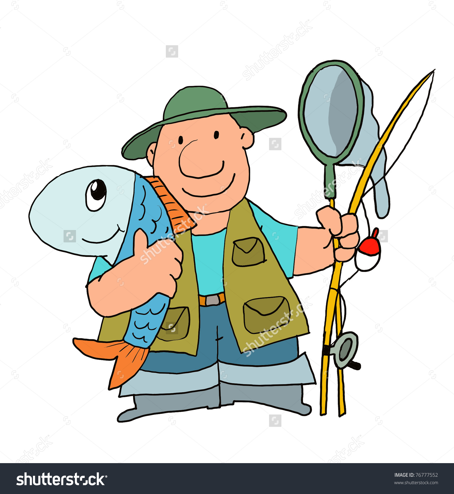 1473x1600 Catching A Big Fish Fishing Pole Clipart, Explore Pictures