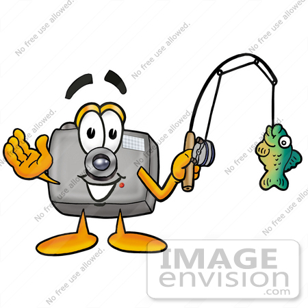 450x450 Cliprt Graphic Of Flash Camera Cartoon Character Holding