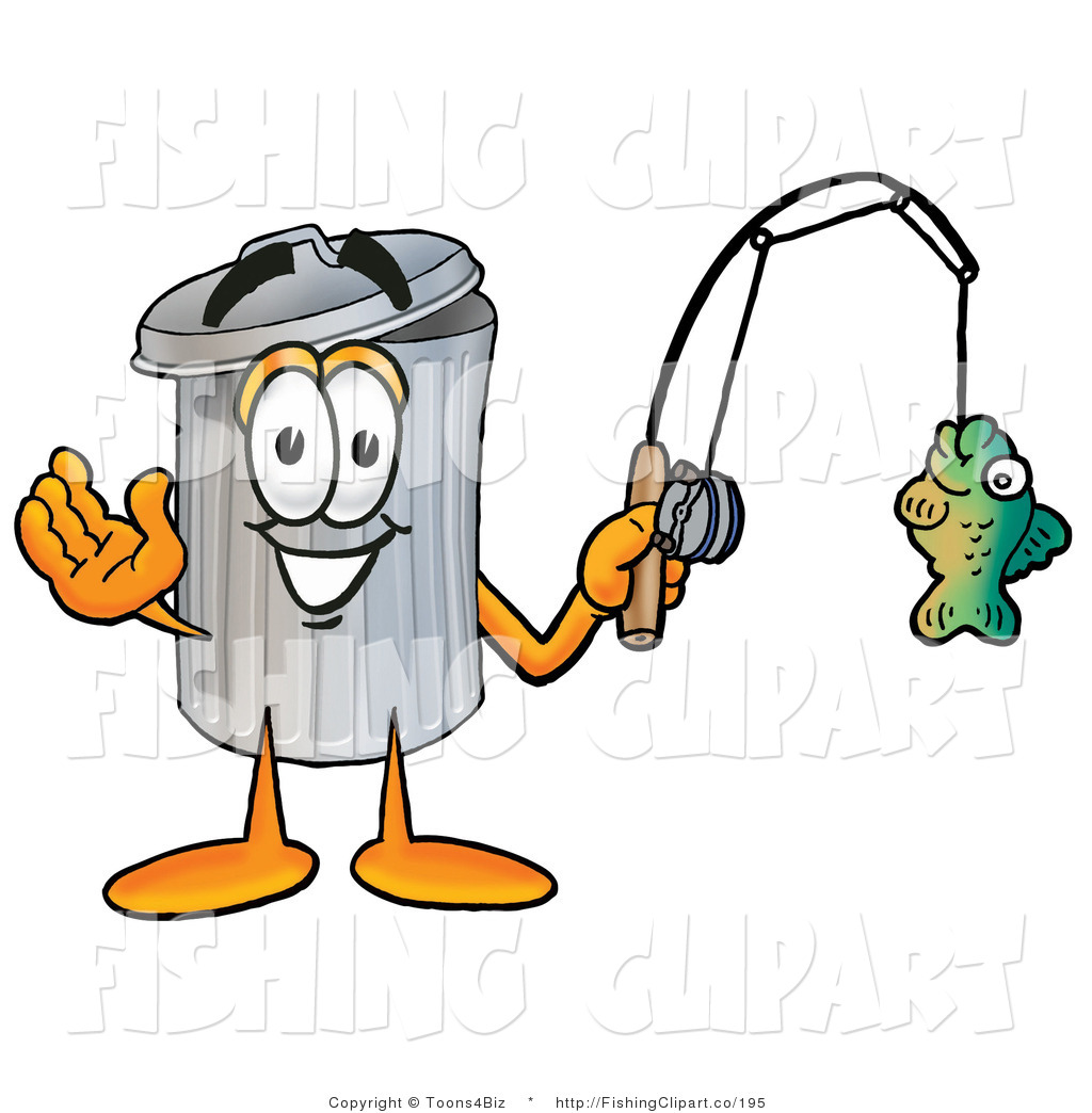 1024x1044 Cliprt Of Happy Garbage Can Mascot Cartoon Character Holding