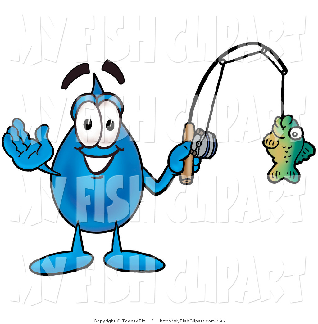 1024x1044 Clip Art Of A Smiling Water Drop Mascot Cartoon Character Holding