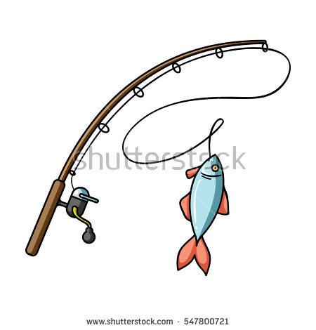 450x470 Hook Clipart Fishing Gear