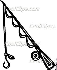243x300 Fishing Rod Vector Clip Art