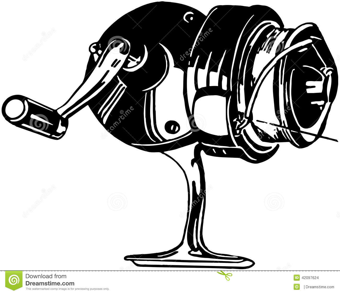 1300x1124 Spinning Reel Clipart